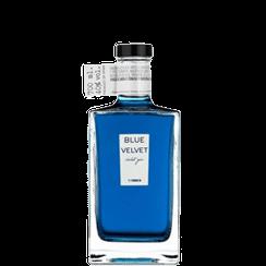 Blue velvet violet gin