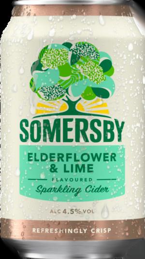 Somersby Elderflower/Lime 24 burkar