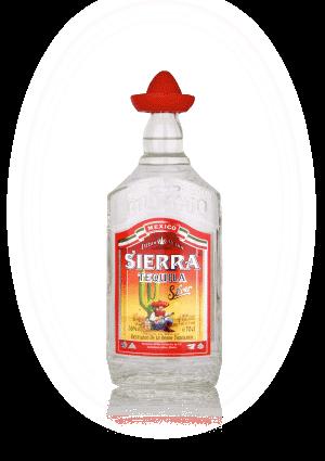 Sierra Tequila Silver 70 cl.