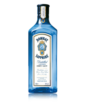 Bombay Saphire gin 100 cl.