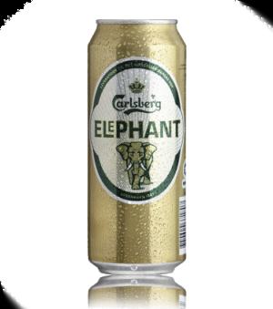 Carlsberg Elephant ?l, 24 stk burk