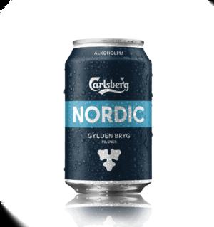 Carlsberg Nordic Alkoholfri 24 burkar