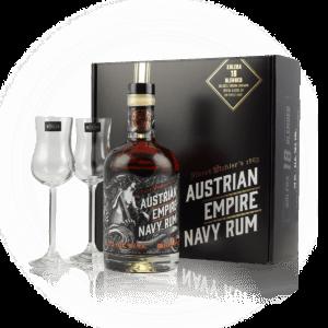 Austrian Imperial Navy Rhum 18 years solera Presentask